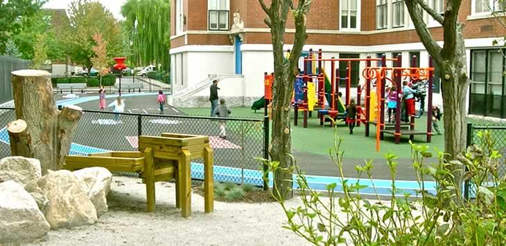 Boston Schoolyard Initiative Home 2014