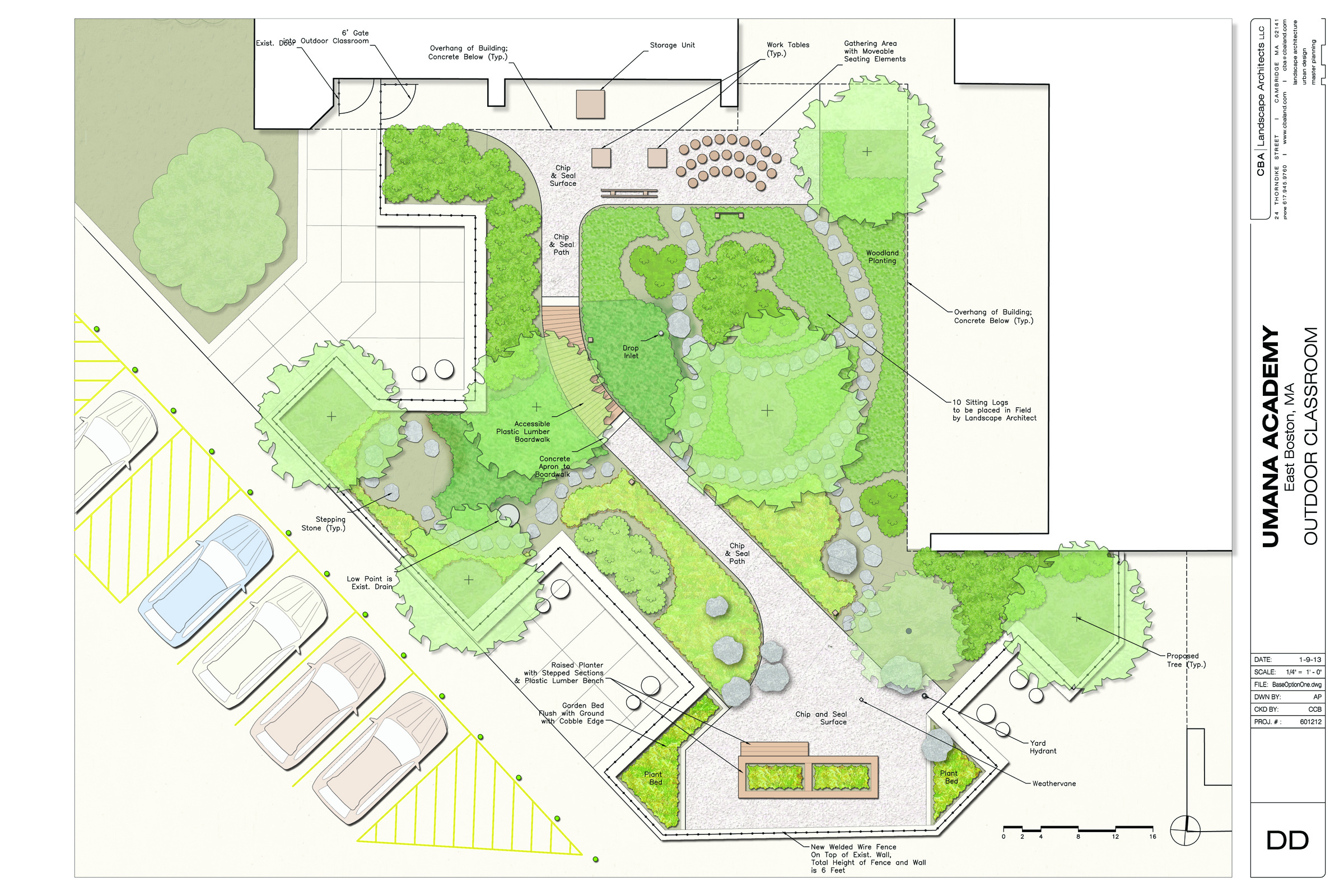 Outdoor Classroom Design Plans : Boston schoolyard initiative projects completed